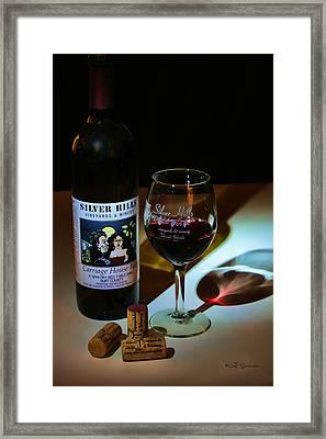 Taste Of Red Framed Print by Jeff Swanson