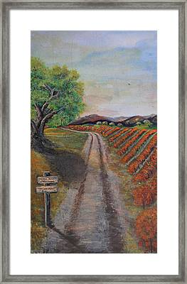 Tasting Room Framed Print by Dixie Adams