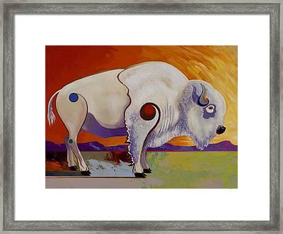 Tatanka Ska  Framed Print by Bob Coonts