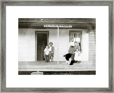 Tate Family Framed Print