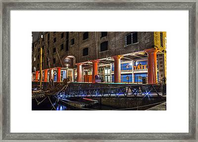 Tate Gallery At The Albert Dock Framed Print