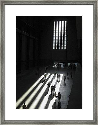 Tate Modern Closing Time Framed Print