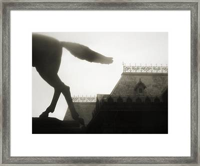 Tathata #00007 Framed Print by Alex Zhul