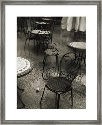 Tathata #00008 Framed Print by Alex Zhul