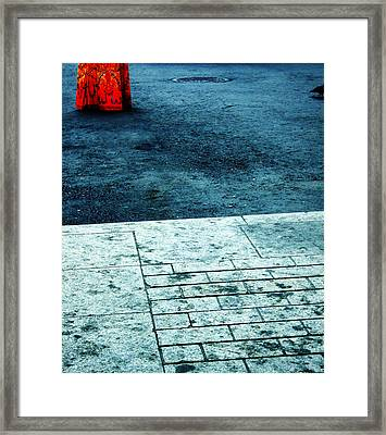 tathata #11NULLUS7 Framed Print by Alex Zhul