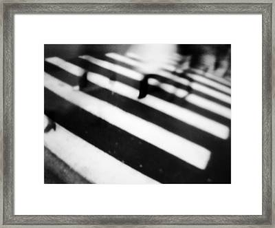 tathata #12NULLUS8 Framed Print by Alex Zhul