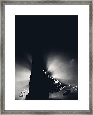 tathata #18NULLUS8 Framed Print by Alex Zhul