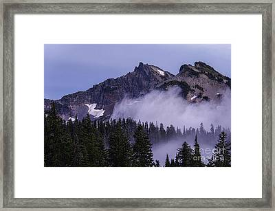 Tatoosh Range Framed Print by Sharon Seaward