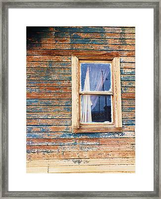 Tattered Framed Print