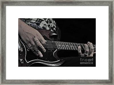 Tattoo Framed Print by Kyle Robish
