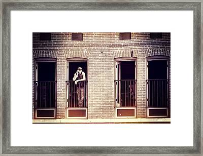 Tattoos On This Town Framed Print by Dan Sproul