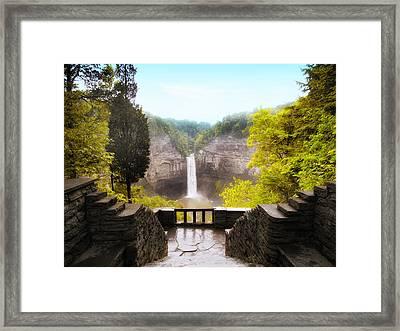 Taughannock Falls Framed Print by Jessica Jenney