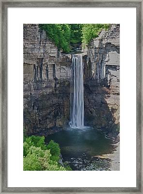 Taughannock Falls  0453 Framed Print