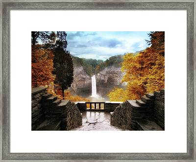 Taughannock Falls 2 Framed Print by Jessica Jenney