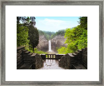 Taughannock Falls Framed Print by Jessica Jenney