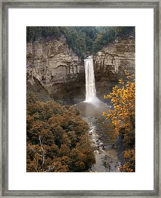 Taughannock Falls Park Framed Print by Jessica Jenney