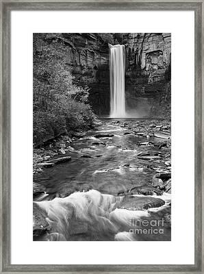 Taughannock Monochrome I Framed Print