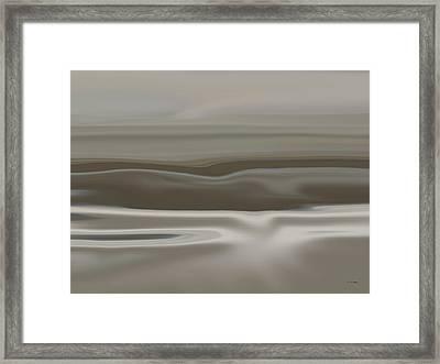 Taupe Dunes Framed Print by Tim Stringer