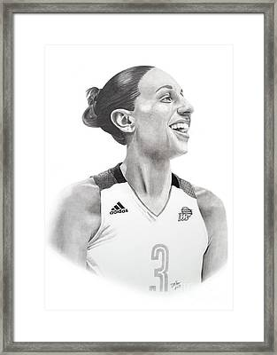 Taurasi Joy Framed Print
