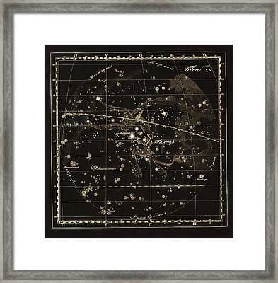 Taurus Constellation, 1829 Framed Print by Science Photo Library