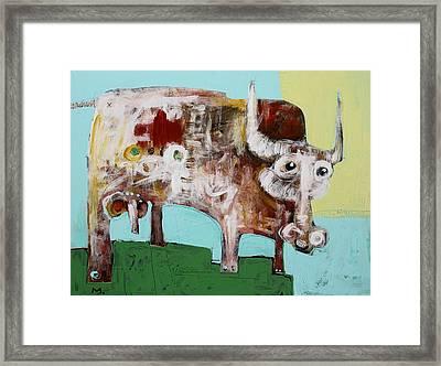 Taurus No 4 Framed Print
