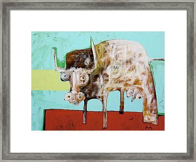 Taurus No 5 Framed Print by Mark M  Mellon