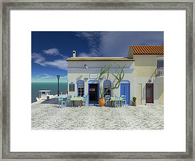 Taverna Framed Print by Paul McManus