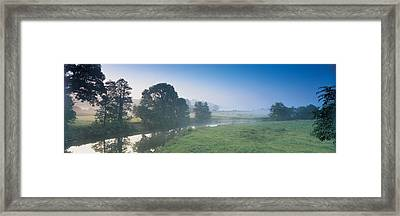 Taw River Near Barnstaple N Devon Framed Print by Panoramic Images