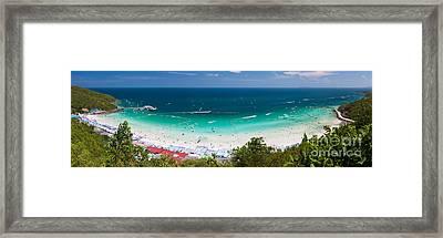 Tawaen Beach Framed Print by Atiketta Sangasaeng