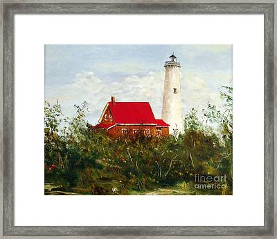 Tawas Framed Print by Lee Piper