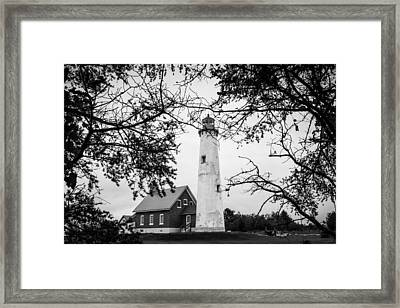 Tawas Point Lighthouse Framed Print