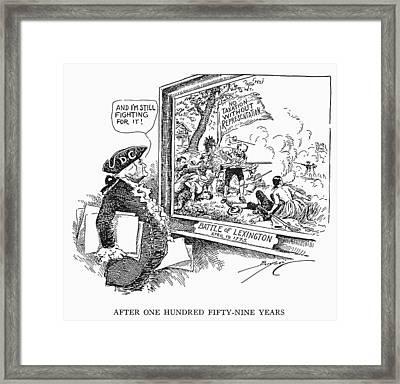 Taxation Cartoon, 1934 Framed Print by Granger