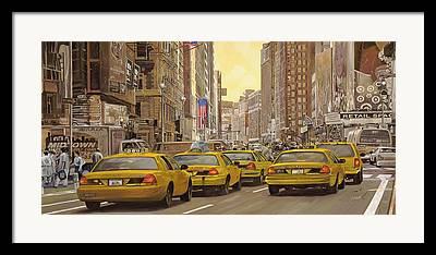 Cities Paintings Framed Prints