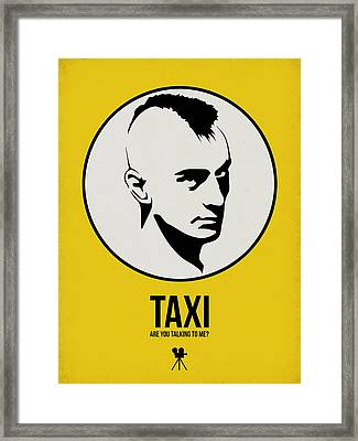 Taxi Poster 1 Framed Print