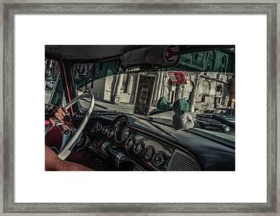 Taxidriver Framed Print