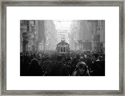 Taxim Street Framed Print