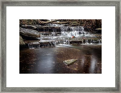 Taylor Creek Falls Framed Print