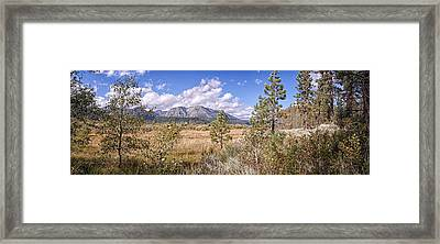 Framed Print featuring the photograph Taylor Creek Panorama by Jim Thompson