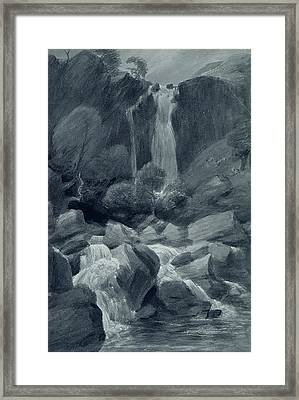 Taylor Ghyll Framed Print by John Constable