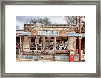 Taylor Mississippi Framed Print