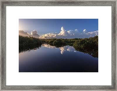 Taylor Slough Framed Print by Jonathan Gewirtz