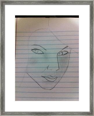 Taylor Swift Framed Print by Khoa Luu