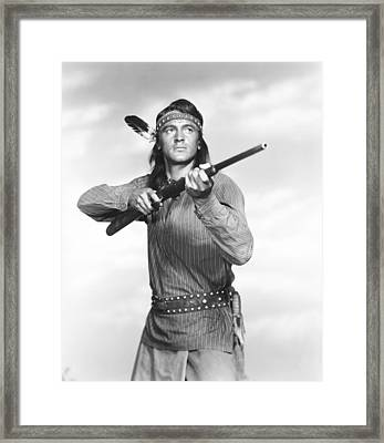 Taza, Son Of Cochise, Rock Hudson, 1954 Framed Print by Everett