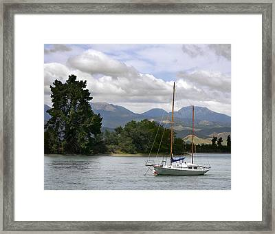 Tazman Bay Nz Framed Print