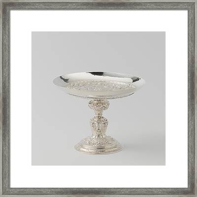 Tazza Footed Drinking Cup With A Gathering Of The Olympian Framed Print