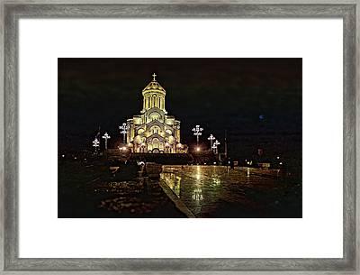 Tbilisi Church Framed Print