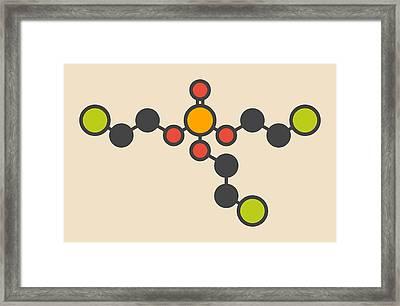 Tcep Molecule Framed Print by Molekuul