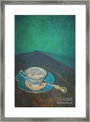 Tea Alone Framed Print by Danilo Piccioni