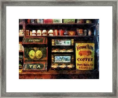 Tea And Coffee Framed Print