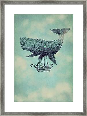 Tea At Two Thousand Feet Framed Print by Eric Fan